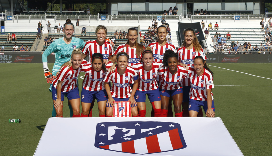 Temp. 19-20 | International Champions Cup | Manchester City - Atlético de Madrid Femenino | Once