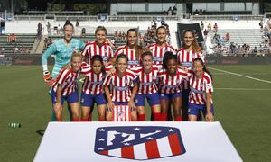Temp. 19-20   International Champions Cup   Manchester City - Atlético de Madrid Femenino   Once