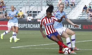 Temp. 19-20   International Champions Cup   Manchester City - Atlético de Madrid Femenino   Ludmila