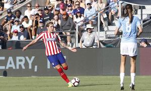 Temp. 19-20   International Champions Cup   Manchester City - Atlético de Madrid Femenino   Linari