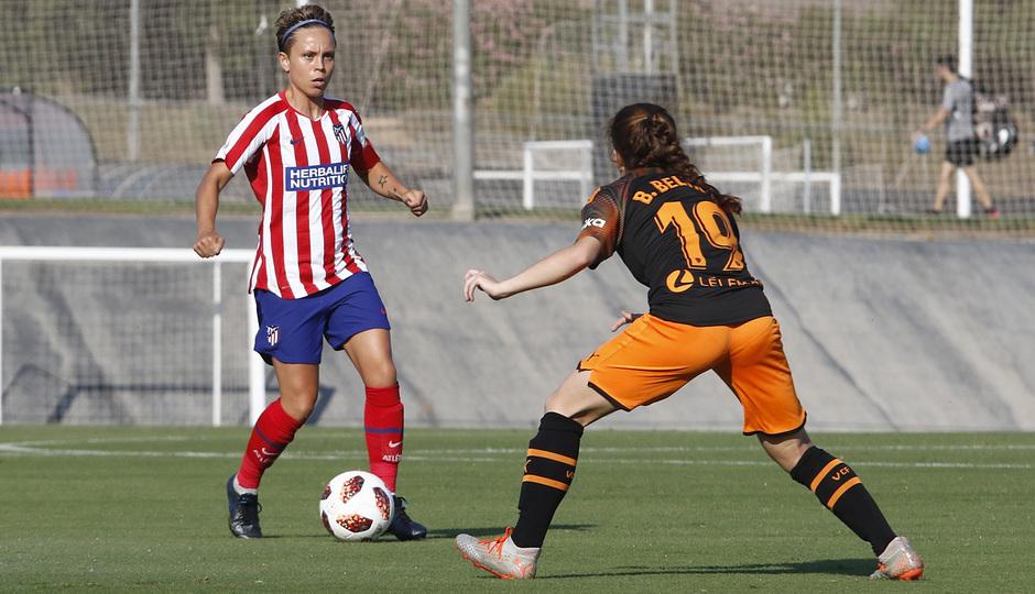 Temporada 19/20 | Atlético de Madrid Femenino - Valencia CF Femenino | Triangular | Amanda