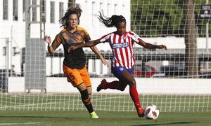 Temporada 19/20   Atlético de Madrid Femenino - Valencia CF Femenino   Triangular   Tounkara