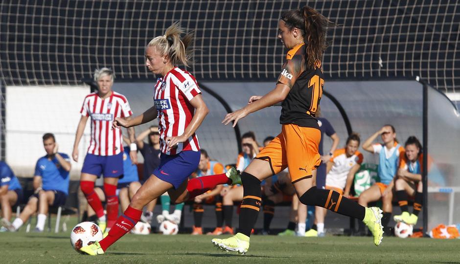 Temporada 19/20 | Atlético de Madrid Femenino - Valencia CF Femenino | Triangular | Toni Duggan