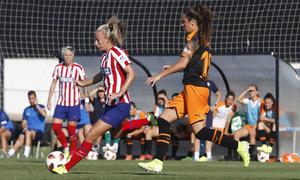 Temporada 19/20   Atlético de Madrid Femenino - Valencia CF Femenino   Triangular   Toni Duggan