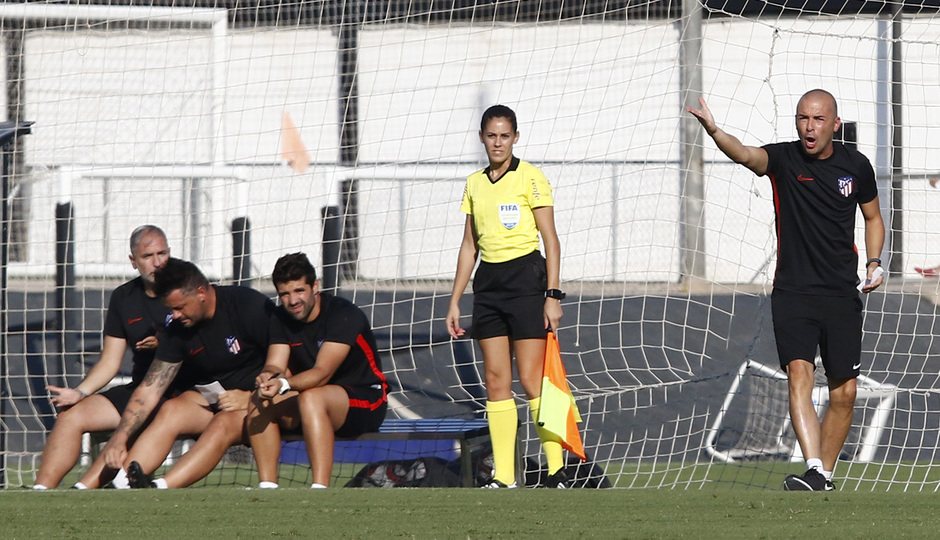 Temporada 19/20 | Atlético de Madrid Femenino - Valencia CF Femenino | Triangular | Sánchez-Vera