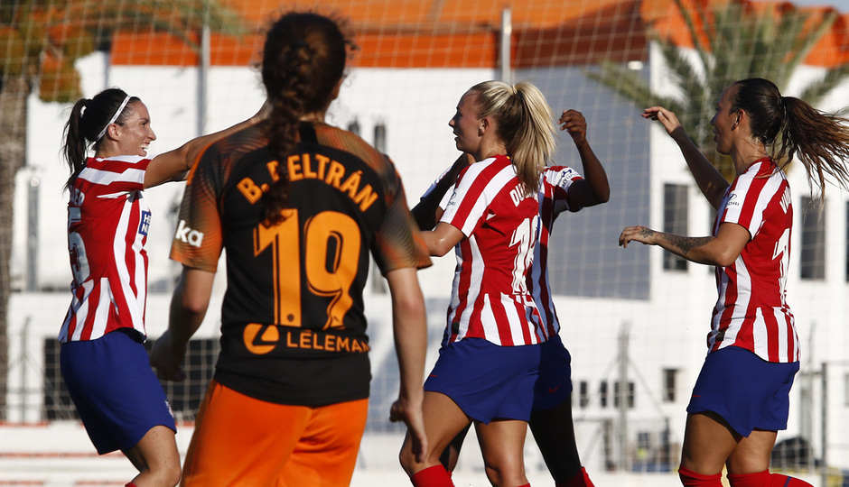 Temporada 19/20 | Atlético de Madrid Femenino - Valencia CF Femenino | Triangular | Celebración