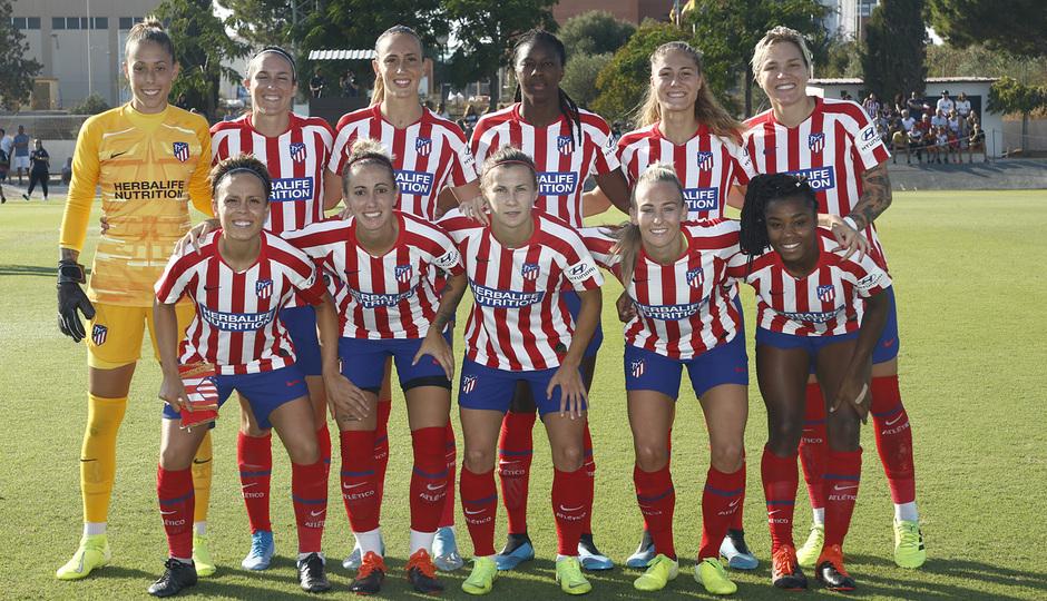 Temporada 19/20 | Atlético de Madrid Femenino - Valencia CF Femenino | Triangular | Once