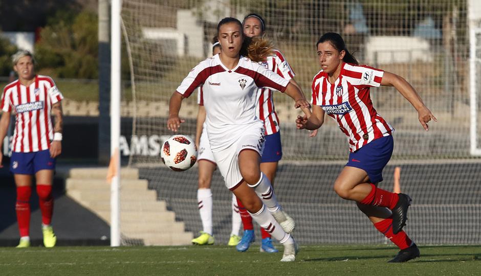 Temporada 19/20 | Atlético de Madrid Femenino - Fundación Albacete | Triangular | Chidiac