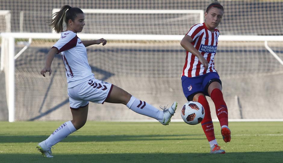 Temporada 19/20 | Atlético de Madrid Femenino - Fundación Albacete | Triangular | Menayo
