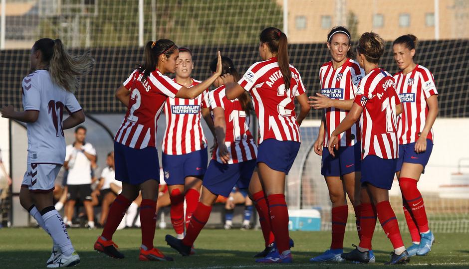 Temporada 19/20 | Atlético de Madrid Femenino - Fundación Albacete | Triangular | Celebración