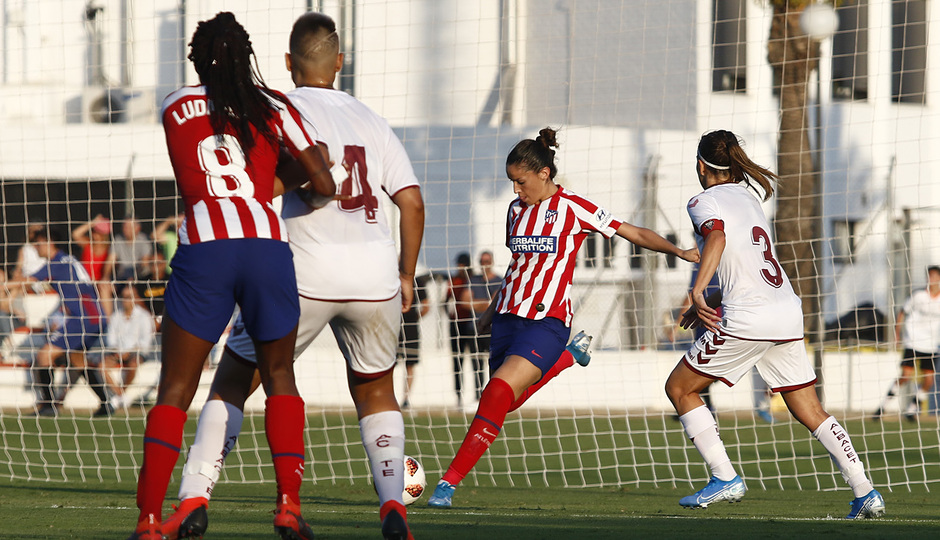 Temporada 19/20 | Atlético de Madrid Femenino - Fundación Albacete | Triangular | Olga