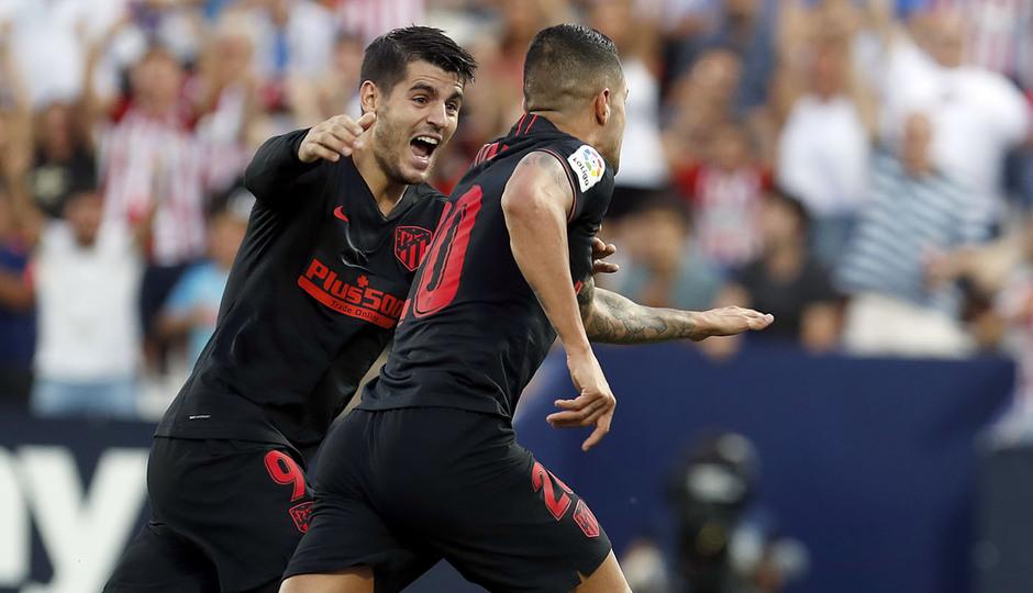 Temporada 19/20 | Leganés- Atlético de Madrid | Vitolo y Morata