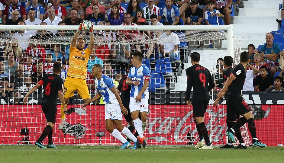 Temporada 19/20 | CD Leganés - Atlético de Madrid | Oblak