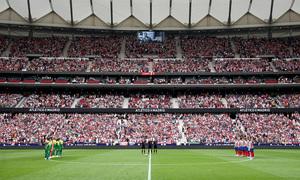 Temp 19/20 | Atlético de Madrid - Eibar | Minuto de silencio