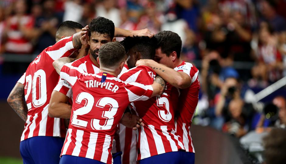 Temp. 19-20 | Atlético de Madrid - Eibar | Piña gol Thomas