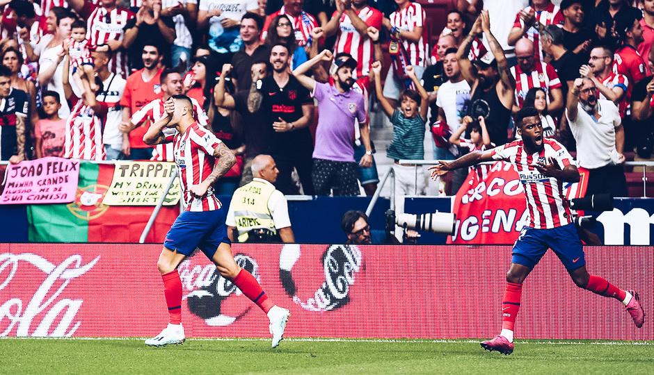 Temp. 19/20. La otra mirada. Atlético de Madrid-Eibar. Vitolo y Lemar