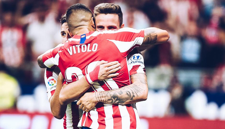 Temp. 19/20. La otra mirada. Atlético de Madrid-Eibar. Vitolo y Saúl