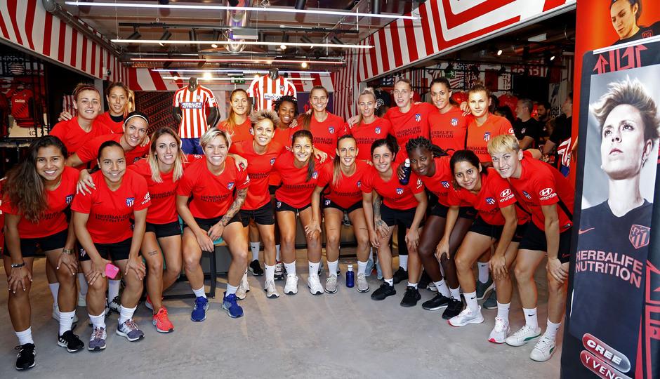 Temporada 19/20 | Atlético de Madrid Femenino | Primer entreno Alcalá