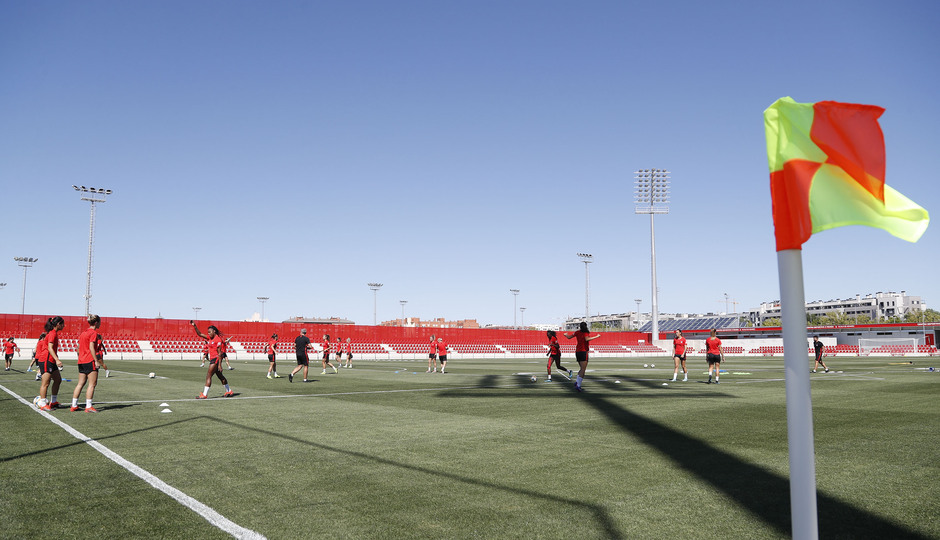 emporada 19/20 | Atlético de Madrid Femenino | Primer entreno Alcalá