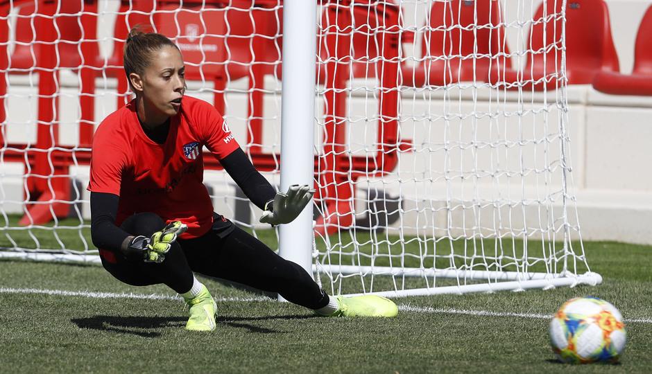 emporada 19/20 | Atlético de Madrid Femenino | Primer entreno Alcalá | Lola