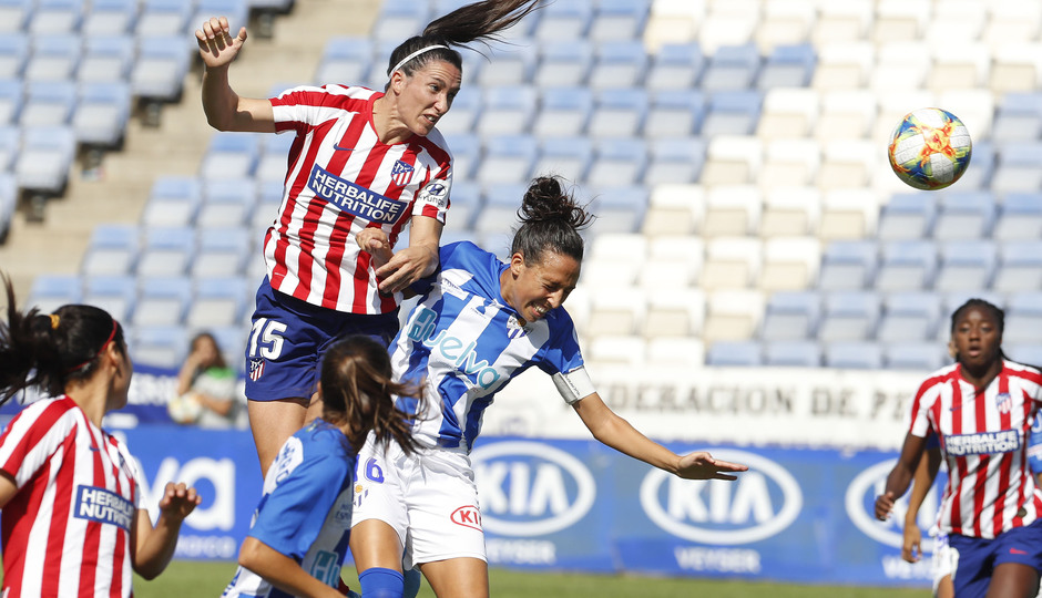 Temp. 19/20. Sporting de Huelva - Atlético de Madrid Femenino. Meseguer