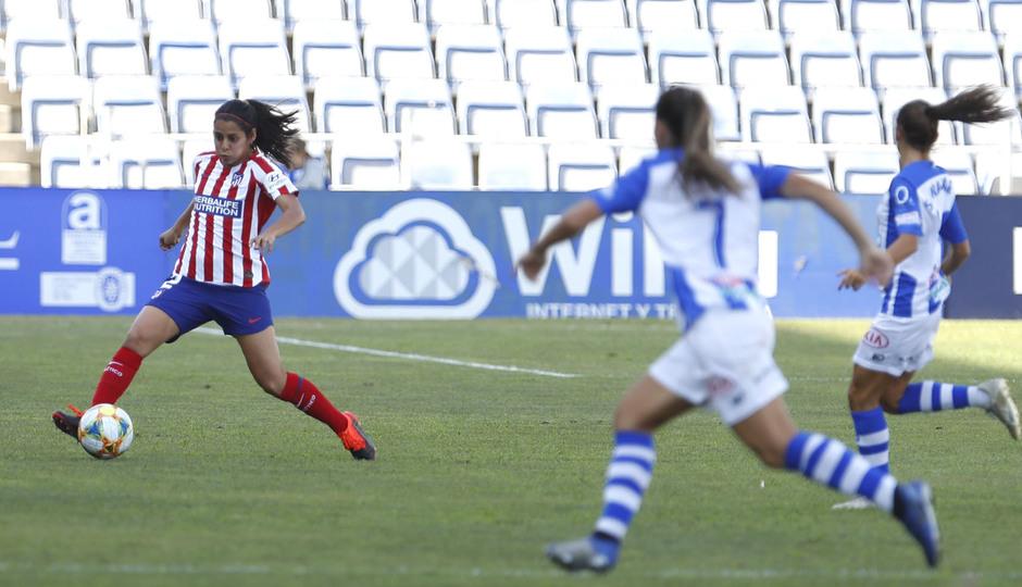 Temp. 19/20. Sporting de Huelva - Atlético de Madrid Femenino. Kenti