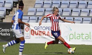 Temp. 19/20. Sporting de Huelva - Atlético de Madrid Femenino. Duggan