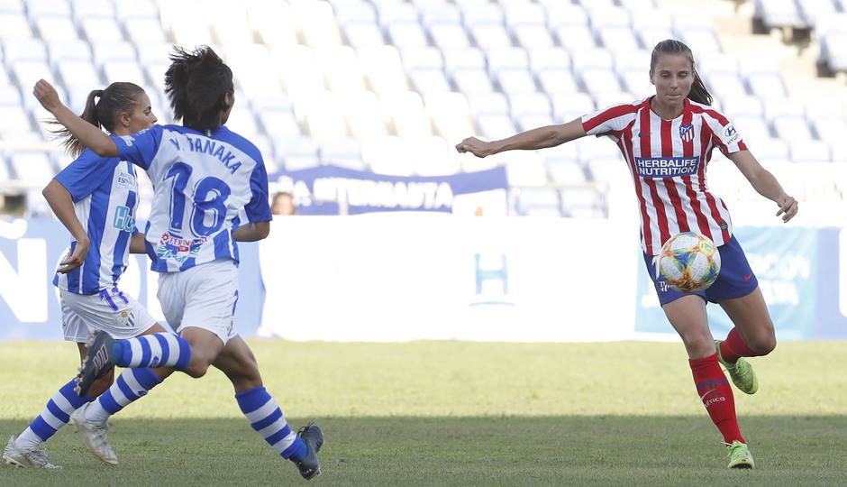 Temp. 19/20. Sporting de Huelva - Atlético de Madrid Femenino. Strom