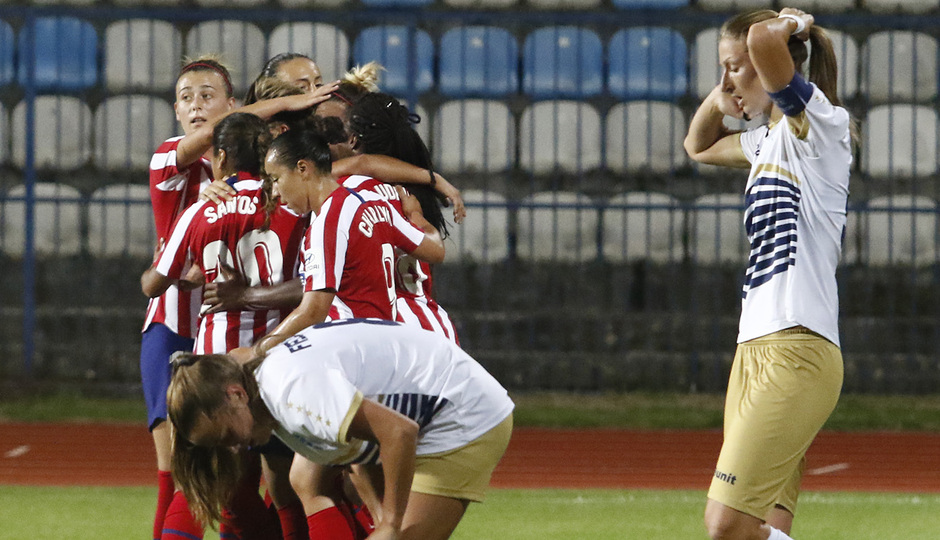 Temporada 19/20 | Spartak Subotica - Atlético de Madrid Femenino | Piña
