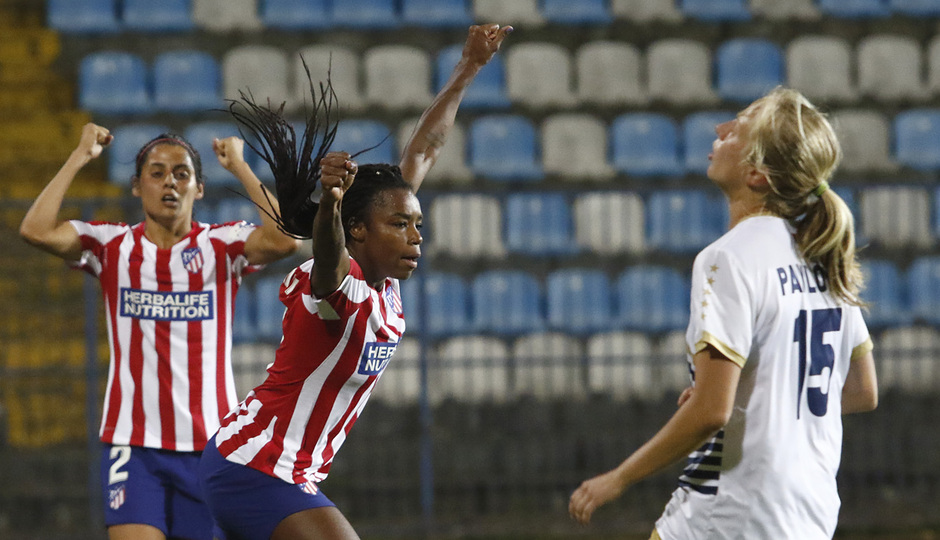 Temporada 19/20 | Spartak Subotica - Atlético de Madrid Femenino | Ludmila