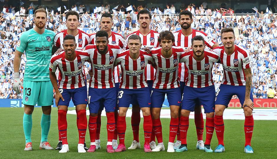 Temporada 19/20   Real Sociedad - Atlético de Madrid   Once