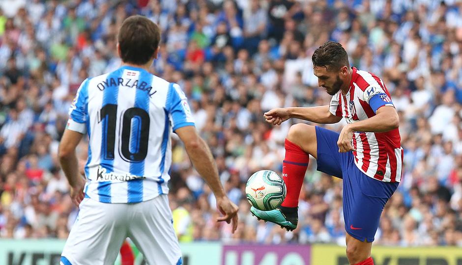 Temporada 19/20 | Real Sociedad - Atlético de Madrid | Koke