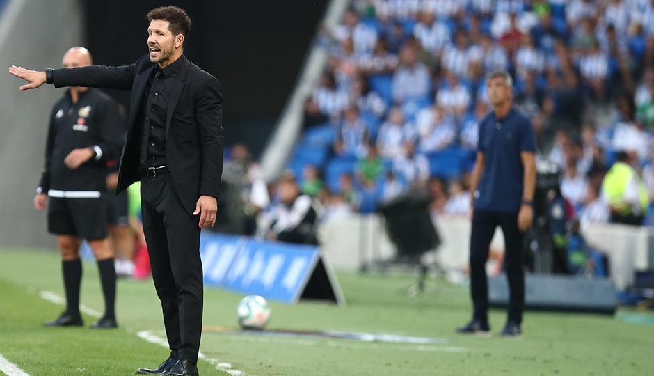 Temporada 19/20   Real Sociedad - Atlético de Madrid   Simeone