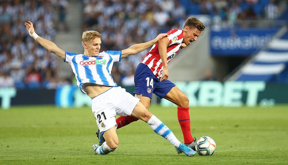 Temporada 19/20 | Real Sociedad - Atlético de Madrid | Llorente