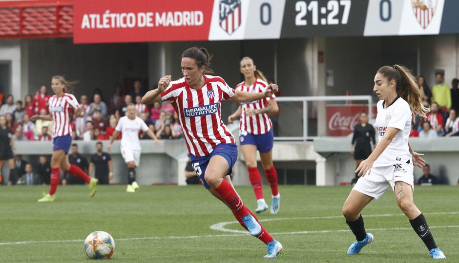 Temp. 19/20. Atlético de Madrid Femenino - Sevilla FC. Centro Deportivo Wanda Alcalá de Henares. Meseguer