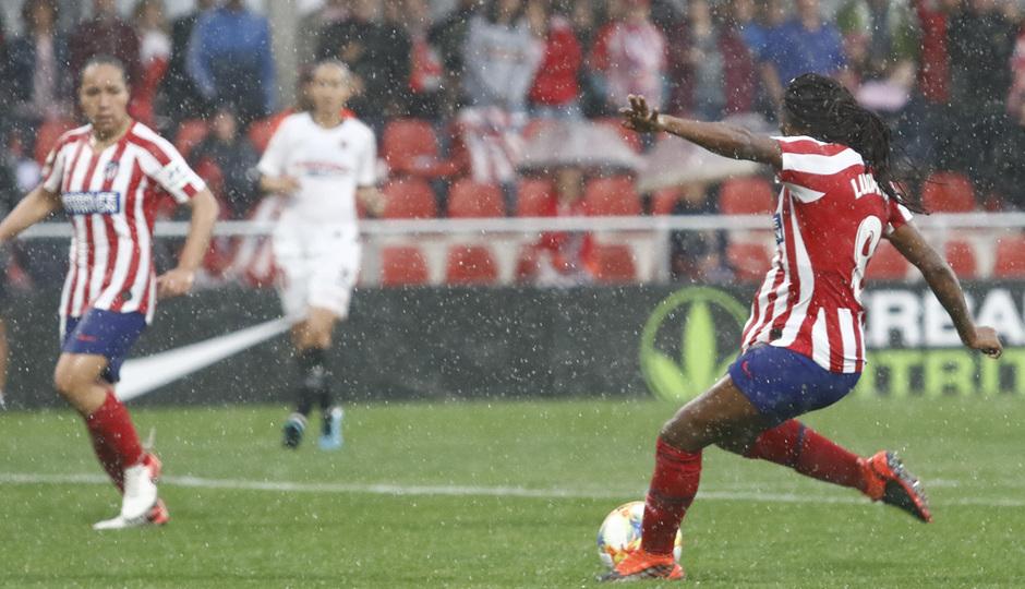 Temp. 19/20. Atlético de Madrid Femenino - Sevilla FC | Gol de Ludmila