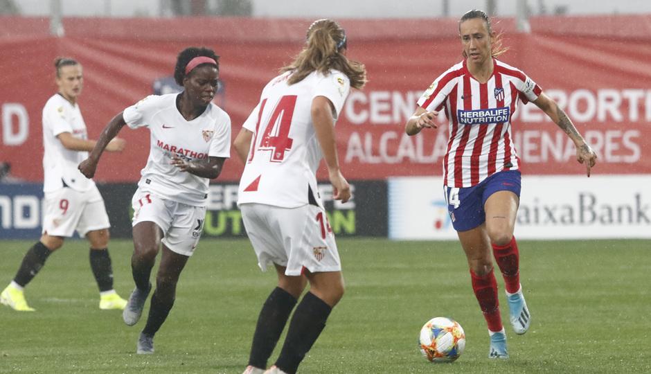 Temp. 19/20. Atlético de Madrid Femenino - Sevilla FC | Virginia Torrecilla