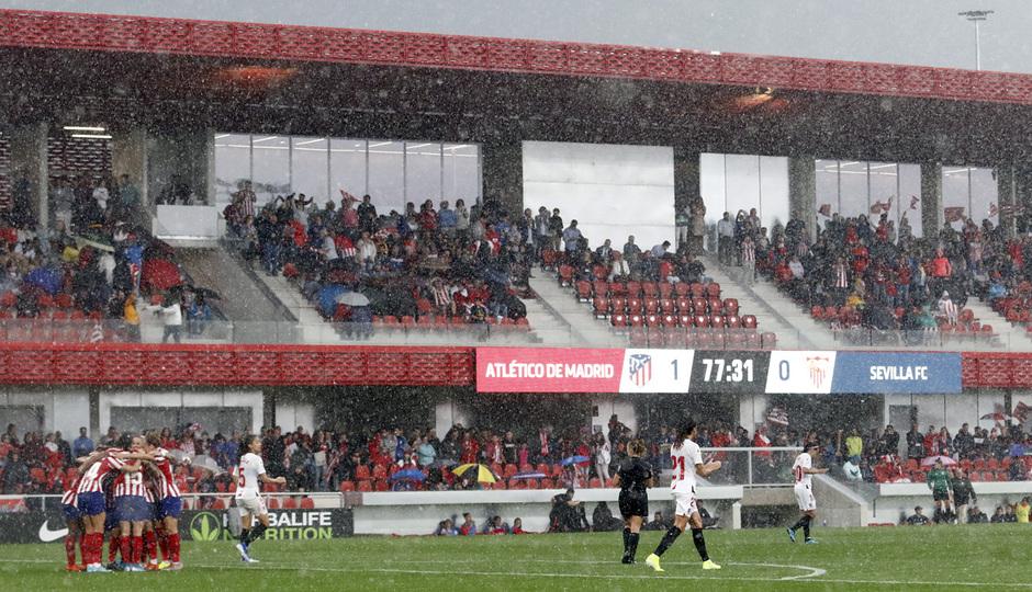 Temp. 19/20. Atlético de Madrid Femenino - Sevilla FC | Celebración