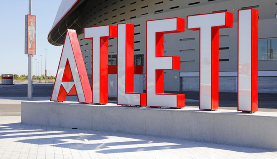 Letras Atleti Wanda Metropolitano