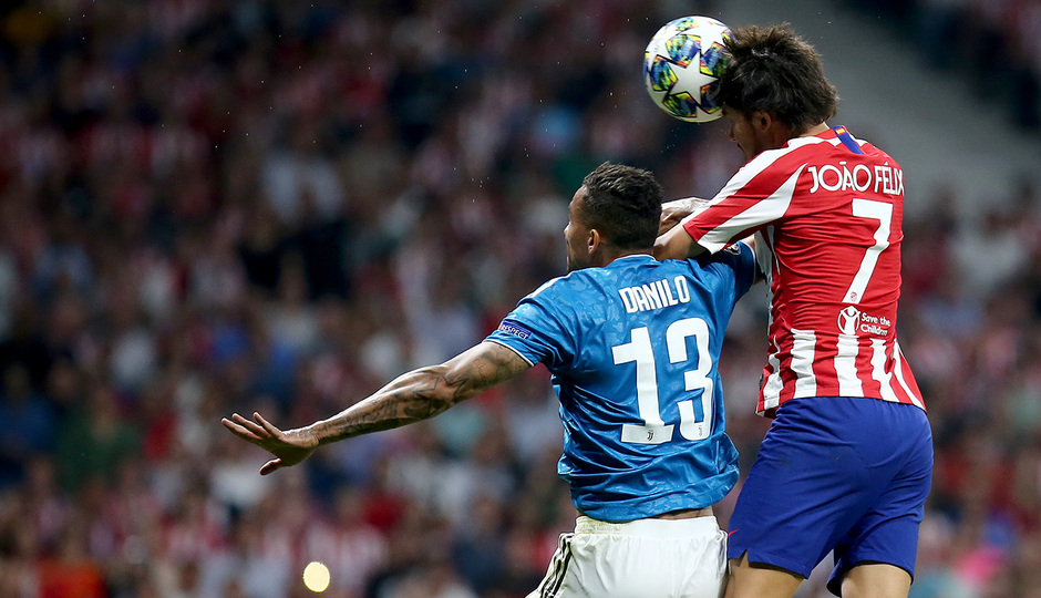 Temp. 19-20   Atlético de Madrid - Juventus   Joao Félix