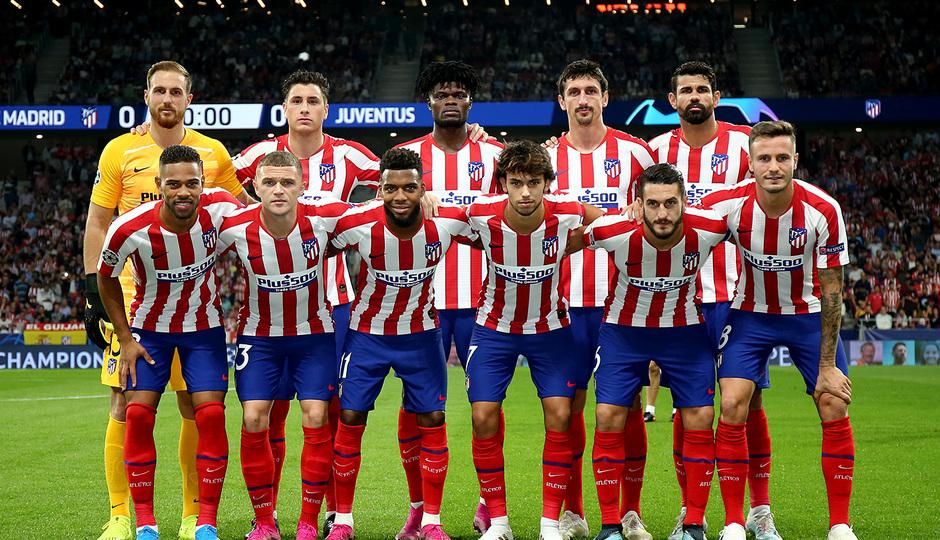 Temp. 19-20   Atlético de Madrid - Juventus   Once