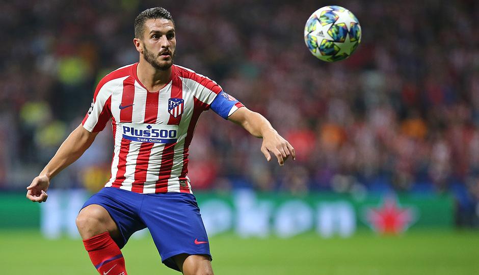 Temp. 19-20   Atlético de Madrid - Juventus   Koke