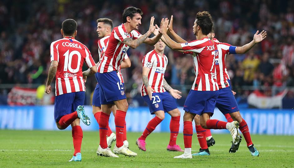 Temp. 19-20   Atlético de Madrid - Juventus   Celebración