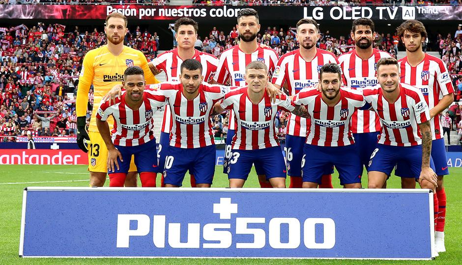 Temporada 19/20 | Atlético de Madrid - Celta | Once