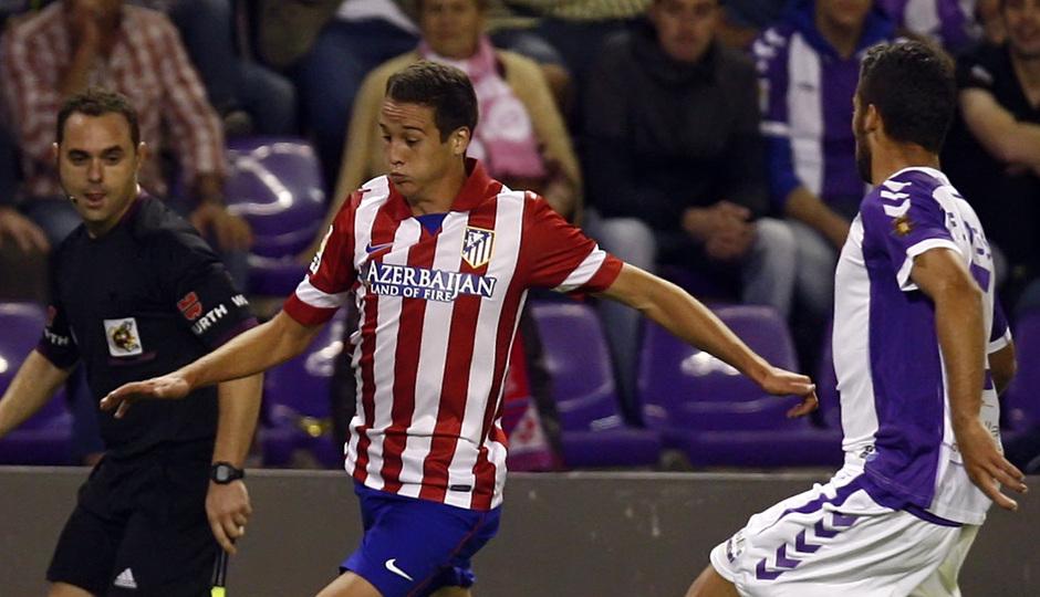 Temporada 13/14 Liga. Partido Valladolid-Atlético de Madrid