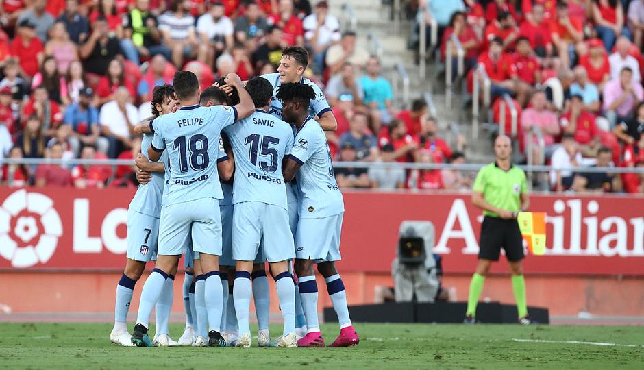Temporada 19/20 | Mallorca - Atleti | Piña