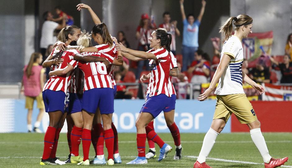 Temporada 19/20 | Atlético de Madrid Femenino - Spartak Subotica | Gol