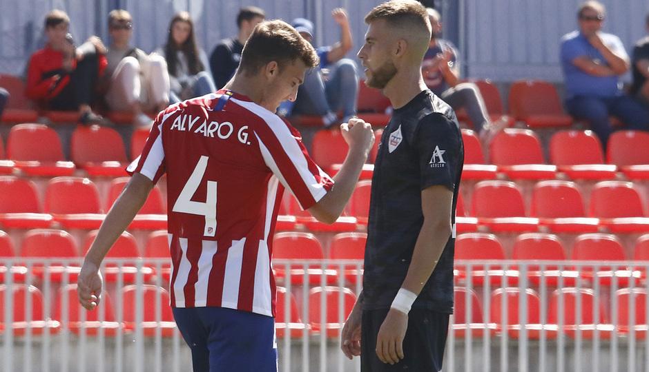 Temp 19/20 | Atlético de Madrid B - UD Sanse | Álvaro García