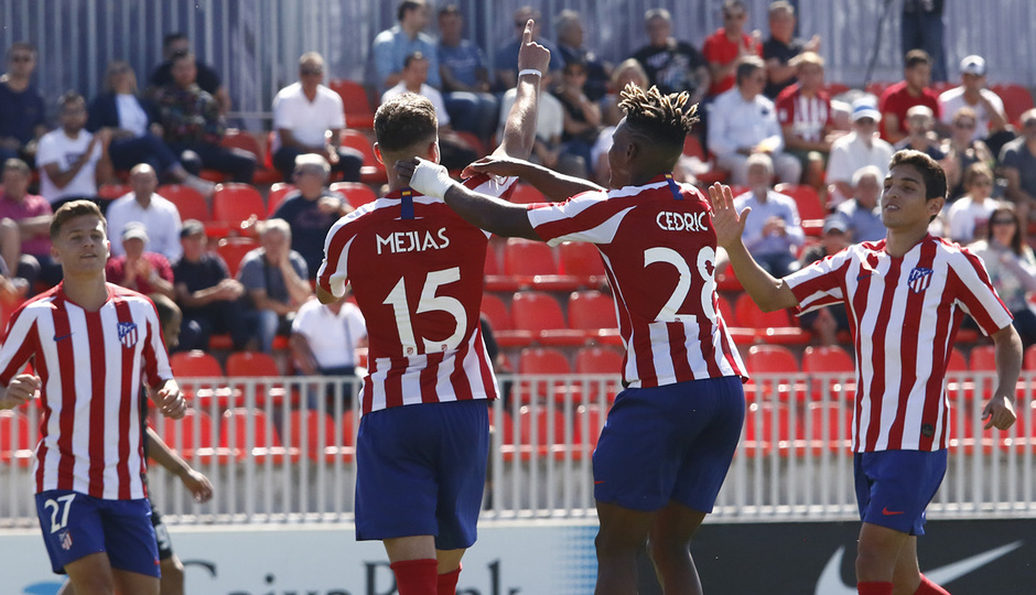 Temp 19/20 | Atlético de Madrid B - UD Sanse | Mejías