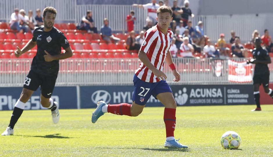 Temp 19/20 | Atlético de Madrid B - UD Sanse | Germán Valera
